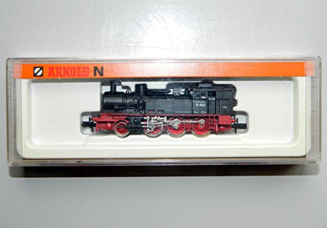 Arnold 2285 Dampflok BR 74 der DB, Betr.-Nr. 74 959, schwarz, Spur N