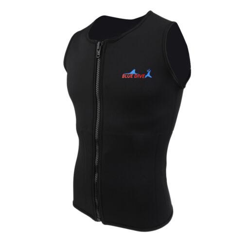 2mm Neoprene Wetsuit Vest Waistcoat for Diving Swimwear Rashguard Top XL