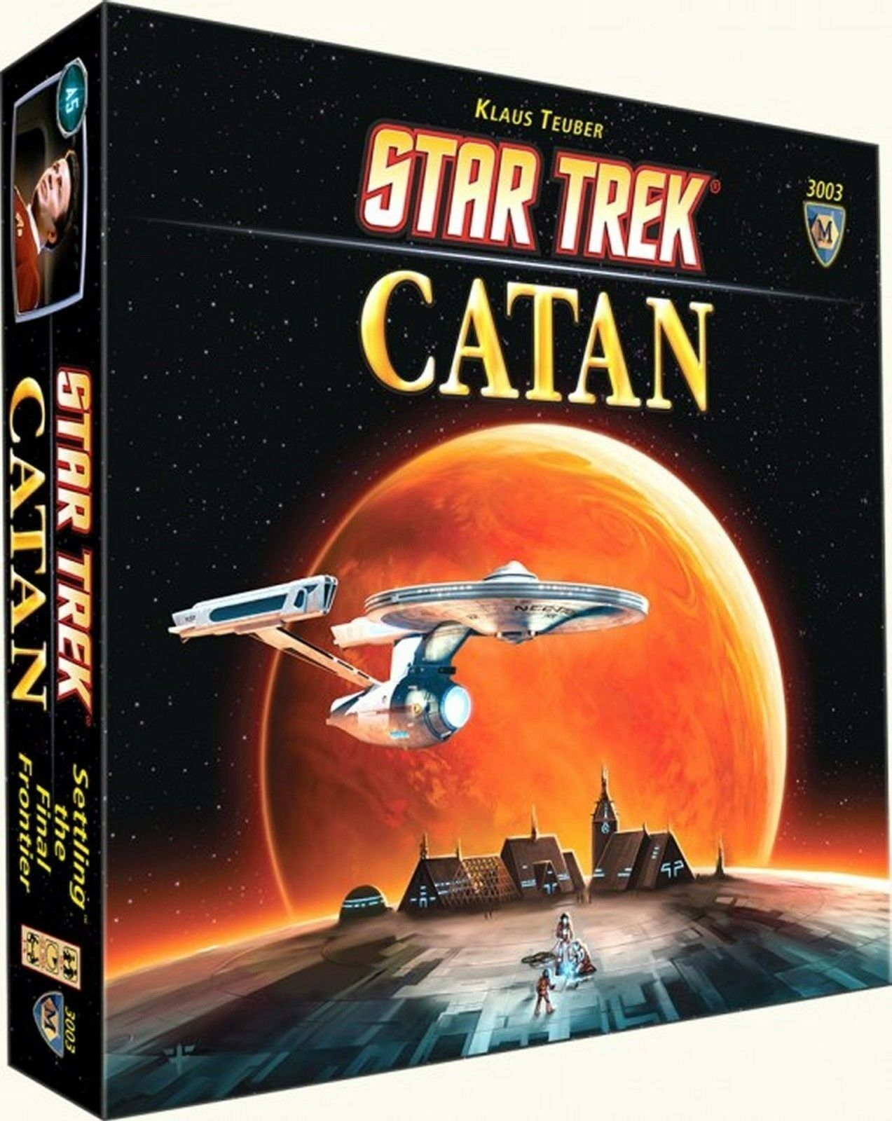 Catan Studio  Star Trek Catan Board Game (New)