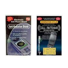 Internal Cell Phone Antenna Booster+EMF Anti Radiation Shield Smartphone Tablet