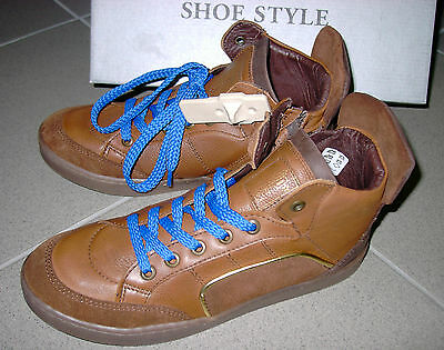 37 hoch geschnitten  Gr Gr 39 HIP SHOE STYLE   Sneaker Leder