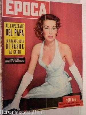 EPOCA 14 febbraio 1954 Lia Amanda Scelba Dijlas Bartali Coco Chanel Helmerick di