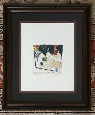 Signed And Numbered 179250 Amos Yaskil Limited Edition Silkscreen