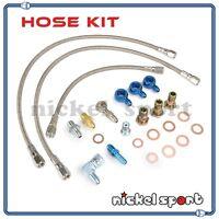S13 T25 T28 Gt35 Ball Bearing Turbo Oil Water Line Kit
