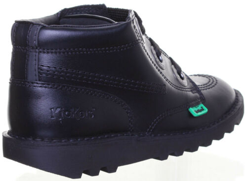 Kickers Kick Hi Largity Junior Leather Boots Women Sizes