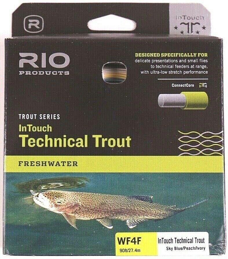Rio InTouch Technical Trout Fly Line WF4F