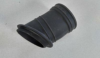 PAIR USED ORIGINAL PORSCHE 911 CARRERA HOT AIR PIPE NEOPRENE CONNECTOR TUBES 2