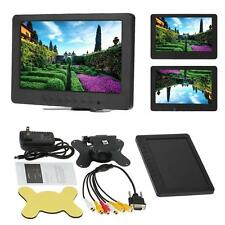 "5-Channel 7"" TFT LCD Color Car Monitor BNC VGA Video Audio for PC CCTV VCD DVD"