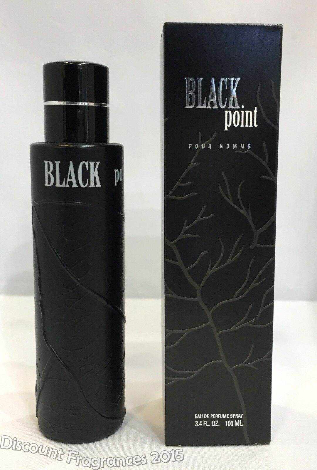 Black Point Cologne by Yzy Perfume, 3.4 oz Eau De Parfum Spray For Men New