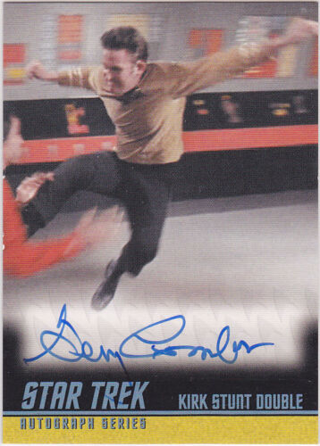 STAR TREK THE ORIGINAL SERIES ARCHIVES 2009 A229 GARY COMBS AUTOGRAPH LIMITED