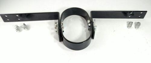 Universal Black Steel Driveshaft Safety Loop Bolt On Adjustable Drive Tail Shaft