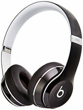 Beats Solo2 On-Ear Wired Headphones Luxe Edition - ML9E2AM/A - Black