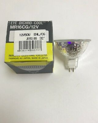 Pack of 8 Fine-Lite MR16 12v Green Halogen Bulb 50w 36D Dichroic Reflector M258