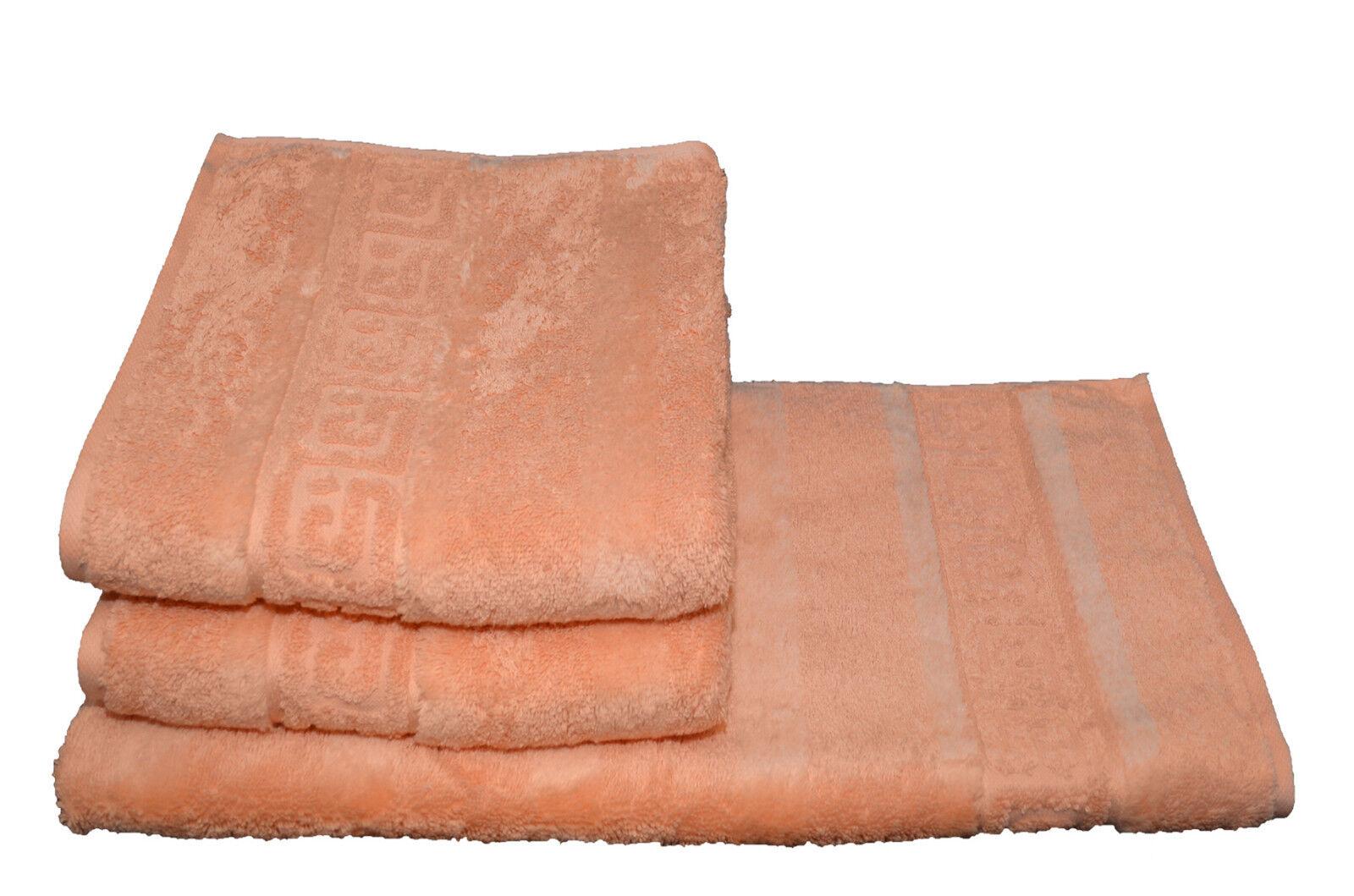 Cawö Noblesse 6x Handtuch Gr. 50 x 100   368 lachs SONDERPREIS online kaufen neu | Feine Verarbeitung
