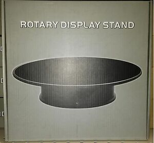 Rotating-Felt-Top-Display-Stand-12-inch-Battery-Operated-for-1-18-scale-Spinning