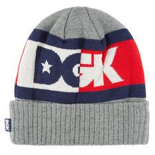 DGK Men's Anthem 2 Beanie Gray  skate cool dope streetwear bnwt brand new