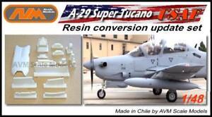 Super Tucano Usaf Afgan Las 1 48 Update Resin Set Ebay