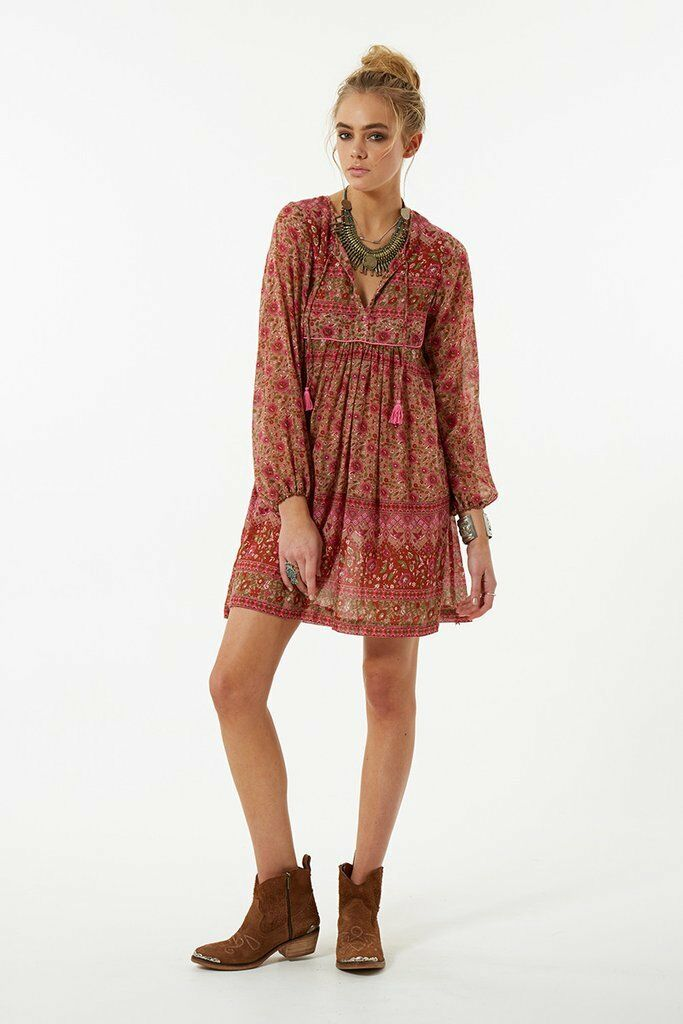Spell Designs KOMBI BOHO Dress Spice - Size S BRAND NEW