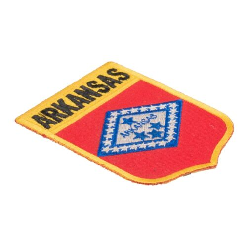 United States of America Patches Arkansas State Flag Shield Patch
