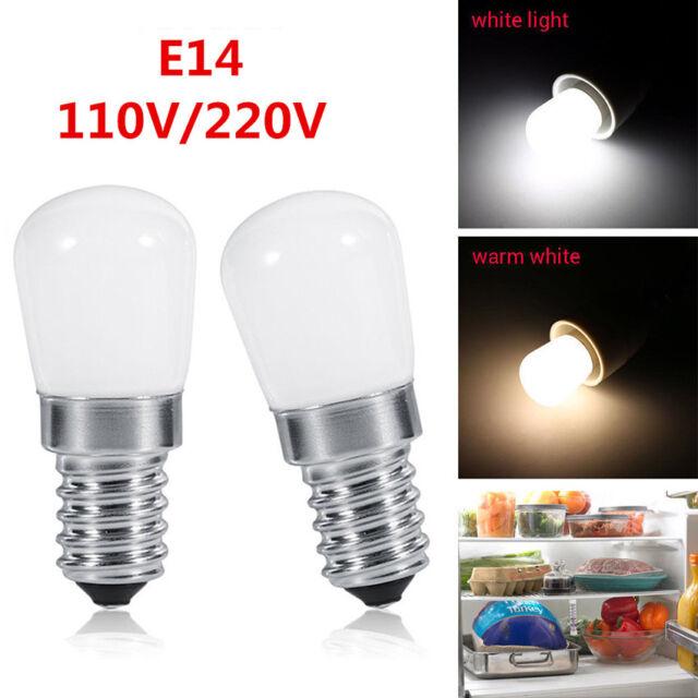 2 Colors E14 1.5W LED Light Bulb for Kitchen Range Hood Chimney Fridge  Cooker