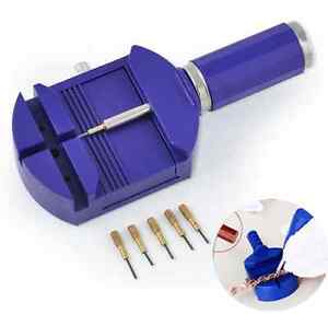 Watch-Link-Remover-Tool-Band-Slit-Strap-Bracelet-Pin-Adjuster-Repair-Tools-Set