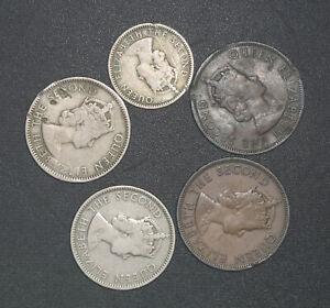 1955 queen elizabeth coin