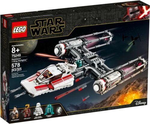 NEUF et Scellé !!!! 75249 Lego Star Wars Résistance y-wing Starfighter