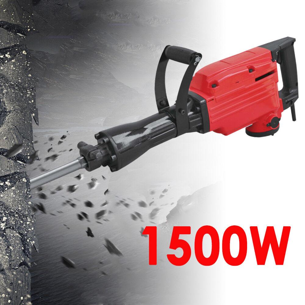 1500W Martillo Perforador Martillo Demoledor Perforar Trituradora Demolición DHL