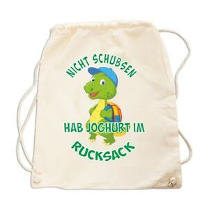 Rucksack GYM Bag Spruch Ich hab schon verstanden MIR NUR EGAL spaß fun sprüche