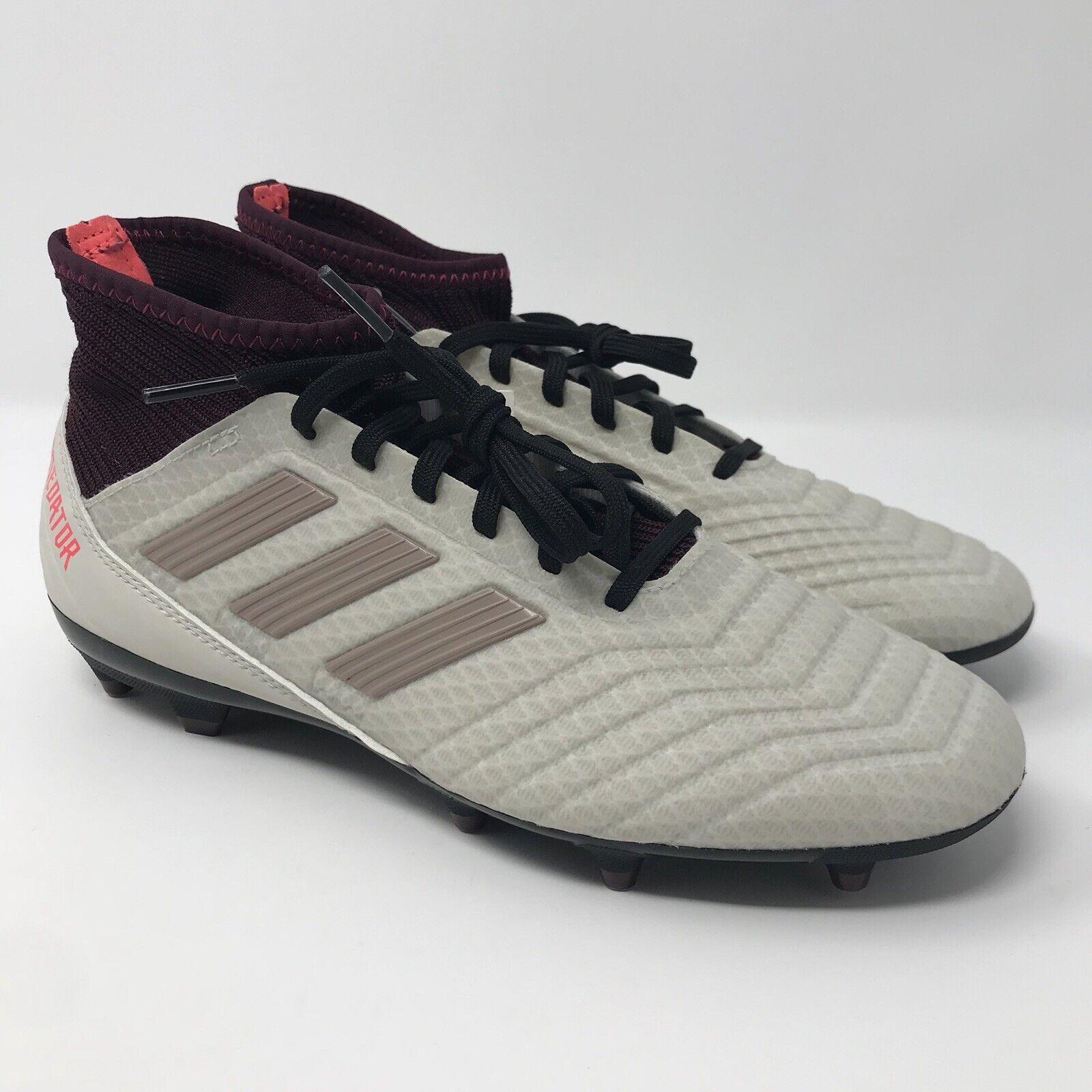 832a8fd0f Adidas Predator 18.3 FG Soccer Cleats Maroon DB2511 Women s Size 6.5 NEW