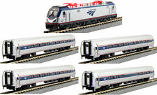 KATO 1068001 N AMTRAK Ph VI ACS-64 Loco & Four Car Set/ Bookcase 106-8001- NEW