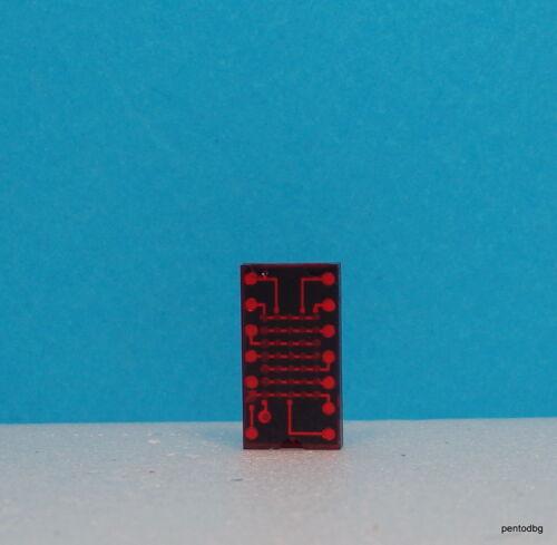 1 pcs TIL305 5 x 7 caractères alphanumériques Affichage DEL Or Rouge Texas instruments rares