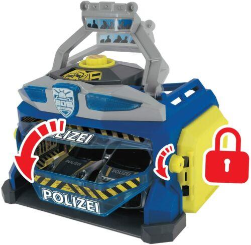 Dickie Toys 203715010 Command Unit Polizeistation Spielstation Set Polizei Auto