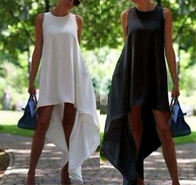 Sexy Women Summer Chiffon Dress Casual Long Maxi Evening Party Beach Dress