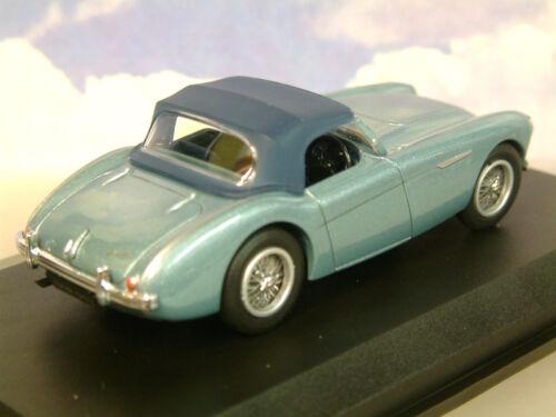 Autos Oxford Diecast 1/43 Austin Healey 100 Bn1 Erhöht Kapuze Im Healey Blau Ah1001