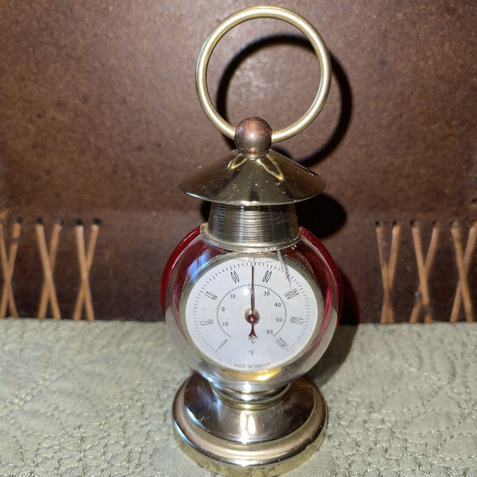 Vintage Indoor Desk Room Thermometers Temperature Gauge France