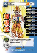 1 Goku - Super Saiyan S8 - Rainbow Prism Foil Dragon Ball Z 2014 Starter Deck DB