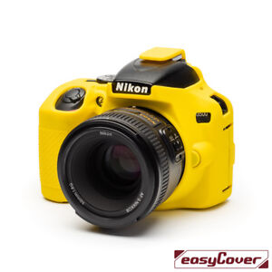 easyCover-Nikon-D3500-Camera-Case-Yellow-EA-ECND3500Y-Silicone-FREE-US-SHIPPING