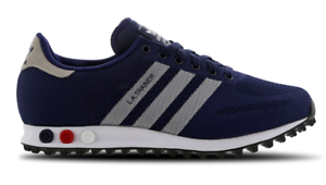 Rosa Conductividad alfombra  Adidas LA Trainer Weave Mens Shoes Navy Blue-Collegiate Navy-Run White All  Sizes | eBay