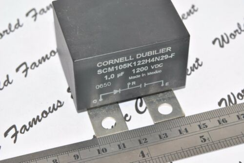 1pcs-CDE 1uF Box031 1200 V INSULATED GATE BIPOLAR Transistor Amortisseur Condensateur-SCM105K122H4N29-F 1µF