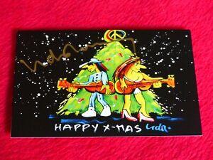 Weihnachtskarten Udo Lindenberg.Details Zu Top Unicef Klappkarte Weihnachten Weihnachtskarte Udo Lindenberg Original Sign