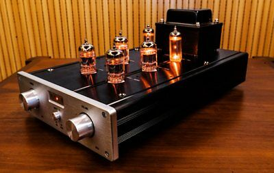 finished 12ax7 12au7 6z4 tube preamplifier hifi vacuum tube preamp 2018 new ebay. Black Bedroom Furniture Sets. Home Design Ideas