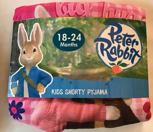 Leg Pyjamas with Peter Rabbit detail Baby Girl Short Sleeve