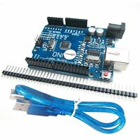 UNO R3 ATmega328P CH340G USB Development Board Compatible Arduino UNO R3 + Cable