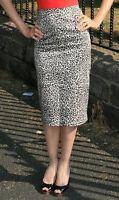 Pencil Skirt 8 High Waisted Pencil Skirt 8 Leopard Print Skirt 8 Long Skirt 8