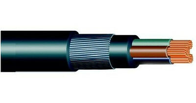 1.5mm 3 CORE SWA STEEL WIRE ARMOURED outdoor CABLE  per metre cut length  XLPE