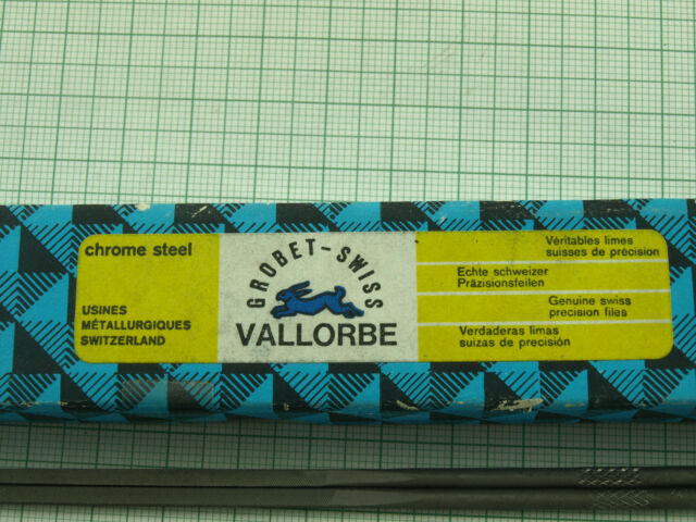 cut 0 //croase// GROBET-VALLORBE 2 pcs.Swiss made riffles 160mm