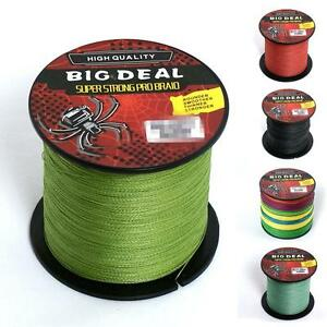Saltwater 100M 10-100LB Super Strong Dyneema Braided Fishing Line Unique Style