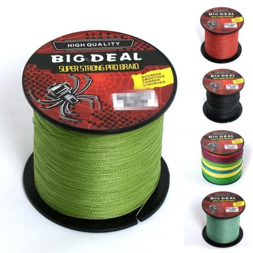 Angelsport Big Deal Stärkste PE Braid Angelschnur 100M Outdoor-Sport Hot Sonstige