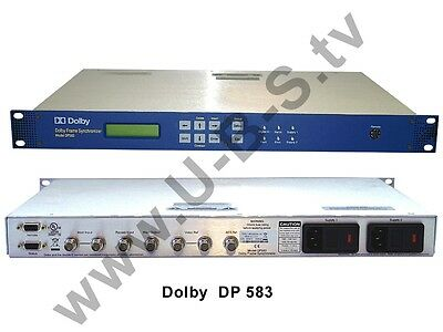 Generous Dolby Dp 583 Dolby E Frame Synchronizer Video Production & Editing Sommerspecial Mit Knallerpreis